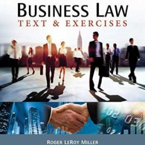 Solution manual for Business Law: Text & Exercises 9th Edition by Miller