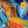 Solution Manual for Methods in Behavioral Research 14th Edition Cozby