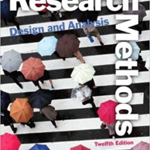 Test Bank for Research Methods