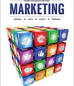 Test Bank for Marketing Canadian 3rd Edition by Grewal
