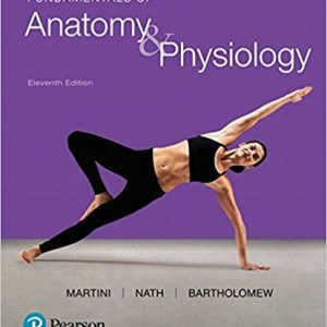 Test Bank for Fundamentals of Anatomy & Physiology 11th Edition by Martini