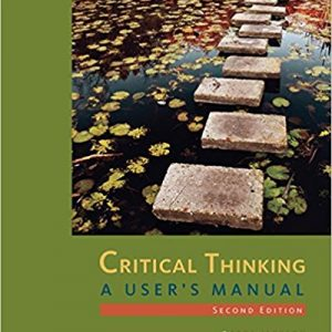 Test Bank for Critical Thinking A User's Manual 2nd Edition by Jackson