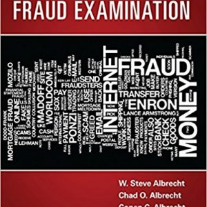 Test Bank for Fraud Examination 5th Edition by Albrecht