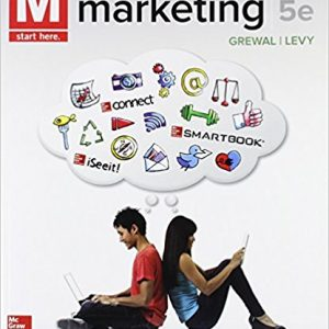 Test Bank for M Marketing 5th Edition by Dhruv Grewal