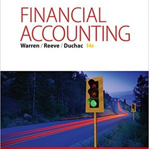 Test Bank for Financial Accounting 14th Edition by Warren