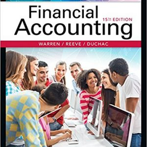 Test Bank for Financial Accounting 15th Edition by Warren