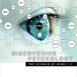 Test Bank for Discovering Psychology the Science of Mind 3rd Edition by Cacioppo