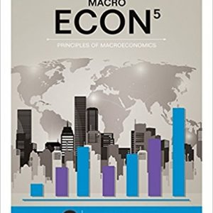 Test Bank for ECON MACRO 5th Edition by Mceachern