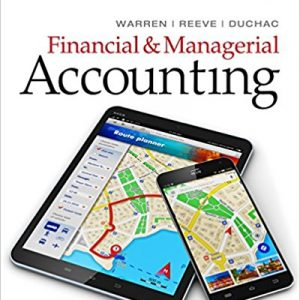 Test Bank for Financial & Managerial Accounting 14th Edition by Warren