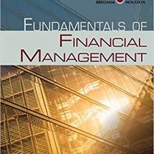 Test Bank for Fundamentals of Financial Management 14th Edition by Brigham