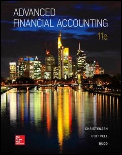 Test Bank for Advanced Financial Accounting