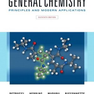 Solution Manual for General Chemistry: Principles and Modern Applications