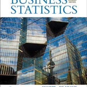 Solution Manual for Business Statistics 3rd Canadian Edition Sharpe