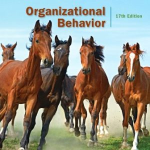 Solution Manual for Organizational Behavior