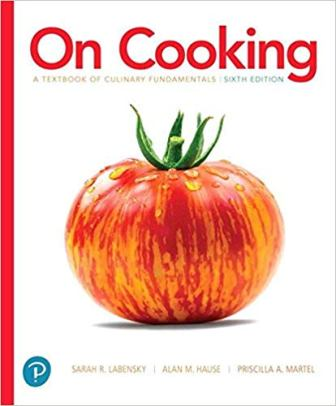 Solution Manual for On Cooking: A Textbook of Culinary Fundamentals