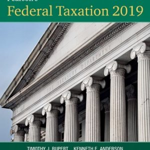 Solution Manual for Pearson's Federal Taxation 2019 Comprehensive