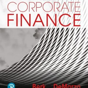Test Bank for Corporate Finance 5th Edition Berk