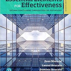 Test Bank for Essential Elements for Effectiveness 7th Edition Abascal