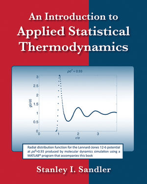 Solution Manual for An Introduction to Applied Statistical Thermodynamics 1st Edition Sandler