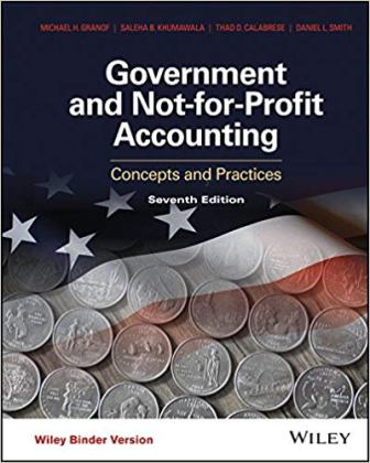 Solution Manual for Government and Not-for-Profit Accounting