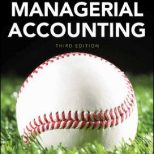 Solution Manual for Managerial Accounting