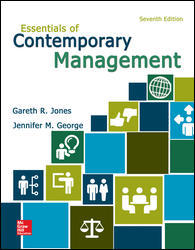 Solution Manual for Essentials of Contemporary Management