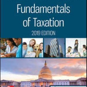 Test Bank for Fundamentals of Taxation 2019 Edition 12th Edition Cruz