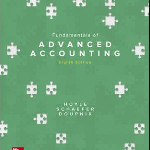 Solution Manual for Fundamentals of Advanced Accounting 8th Edition Hoyle