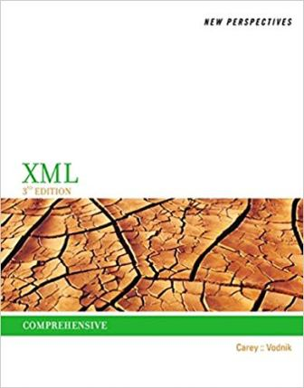 Solution Manual for New Perspectives on XML