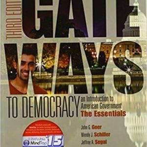 Solution Manual for Gateways to Democracy: An Introduction to American Government