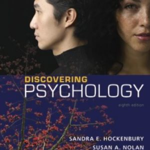 Test Bank for Discovering Psychology 8th Edition Hockenbury ISBN:9781319136390   ISBN:9781319191191
