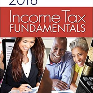 Solution Manual for Income Tax Fundamentals 2018