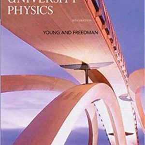Solution Manual for University Physics 14th Edition Young