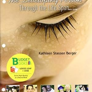 Test Bank for Developing Person Through the Life Span 9th Edition by Berger