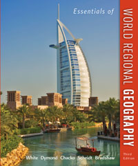 Test Bank for Essentials of World Regional Geography 3rd Edition by White