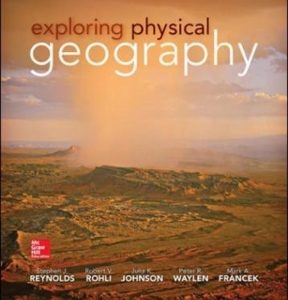 Test Bank for Exploring Physical Geography 1st Edition by Reynolds