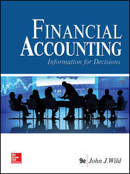 Test Bank for Financial Accounting Information for Decisions 9th Edition by Wild