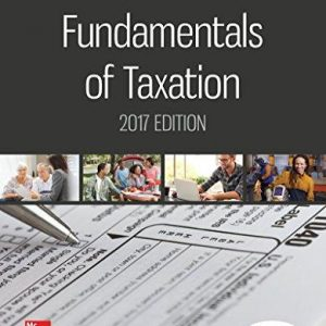 Test Bank for Fundamentals of Taxation 2017 Edition 10th Edition by Cruz