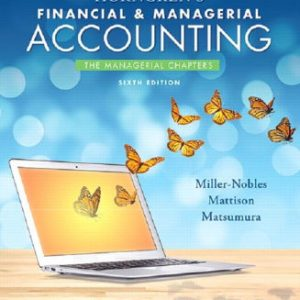 Test Bank for Horngren's Financial & Managerial Accounting
