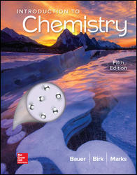 Test Bank for Introduction to Chemistry 5th Edition by Bauer ISBN10: 1259911144