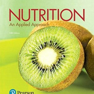 Test Bank for Nutrition: An Applied Approach 5th Ediiton Janice J. Thompson