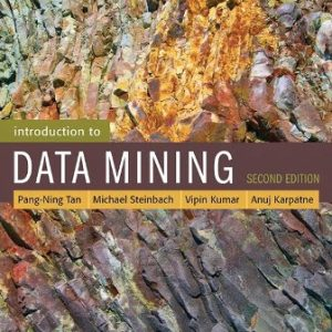 Solution Manual for Introduction to Data Mining 2nd Edition Tan