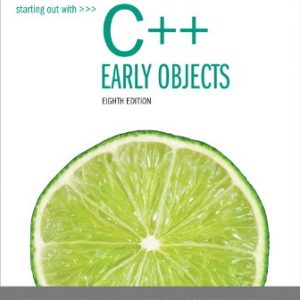 Test Bank for Starting Out with C++: Early Objects