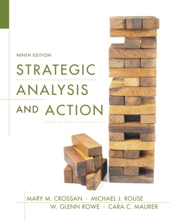 Test Bank for Strategic Analysis and Action