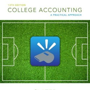 Solution Manual for College Accounting: A Practical Approach