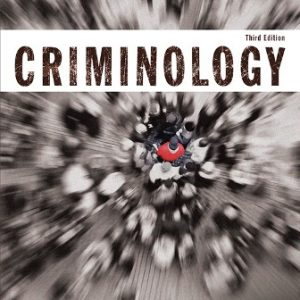 Solution Manual for Criminology