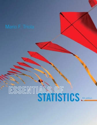 Solution Manual for Essentials of Statistics