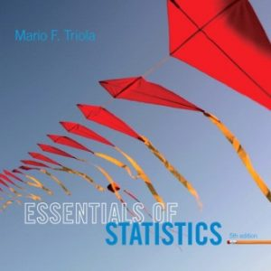 Test Bank for Essentials of Statistics