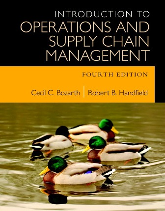 Test Bank for Introduction to Operations and Supply Chain Management