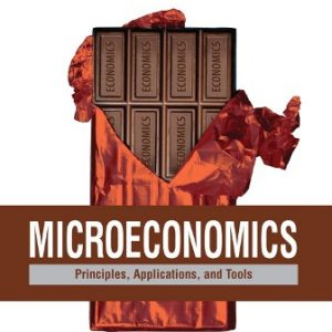 Solution Manual for Microeconomics: Principles